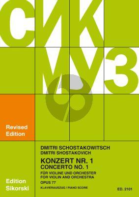 Shostakovich Konzert No.1 Op.77 a-moll Violine-Orchester (KA.) (David Oistrach)