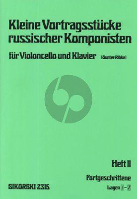 Kleine Vortragstucke russischer Komponisten Vol.2 (Ribke)