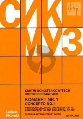 Concerto No.1 Op.107 E-flat major (Violoncello-Orch.)