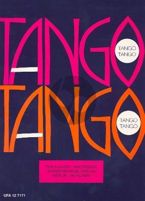 Tango - Tango Album für Akkordeon oder Klavier