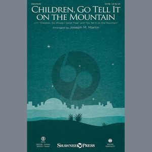 Children, Go Tell It on the Mountain - Bb Clarinet 2