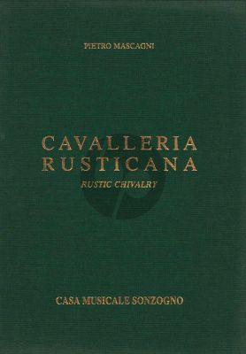 Cavalleria Rusticana Vocal Score