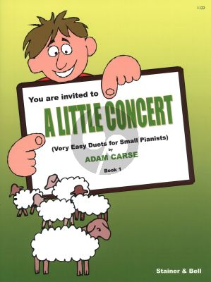 Carse Little Concert Vol.1 (Very Easy Duets for Small Pianists)