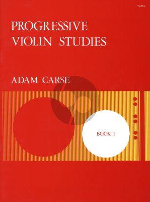 Carse Progressive Violin Studies Vol.1