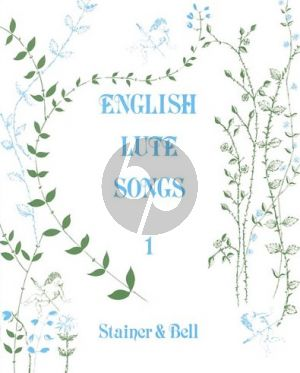 English Lute Songs Vol.1 Voice-Lute