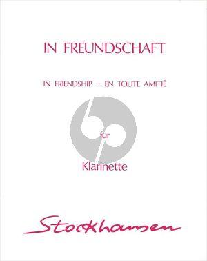 Stockhausen In Freundschaft Werk 46 Klarinette solo