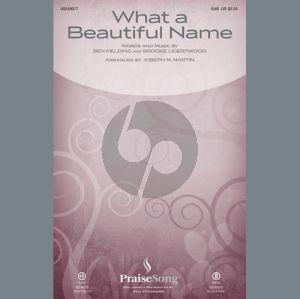 What a Beautiful Name (arr. Joseph M. Martin) - Viola