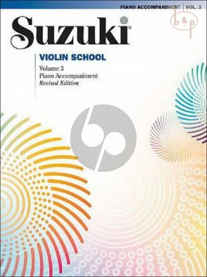 Violin School Vol.3 Piano Accompaniments