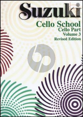 Cello School Vol.3 Cello Part Revised Ed.
