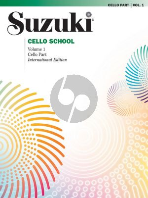 Suzuki Cello School Vol.1 Cello Part (Revised Edition)