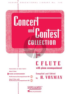 Concert and Contest Collection Flute-Piano (Himie Voxman)