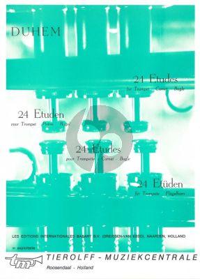 24 Etudes Trompet
