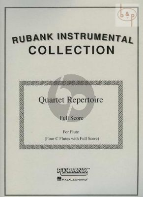 Quartet Repertoire 4 Flutes in C