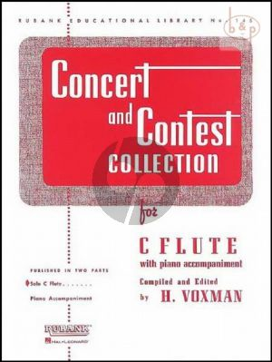Concert & Contest Collection for C Flute