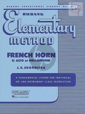 Elementary Method for French Horn
