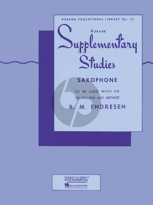 Endresen Supplementary Studies for Saxophone