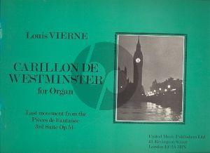 Carillon de Westminster Organ