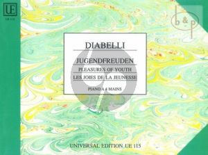 Jugendfreuden Opus 163 (6 Sonatinen) Klavier 4 Hande
