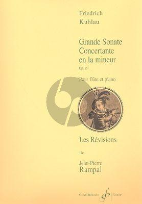 Grande Sonate la mineur Op.85 Flute-Piano (Rampal)