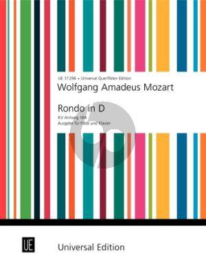 Mozart Rondo D-dur KV Anh.184 Flute-Piano (Frans Vester)