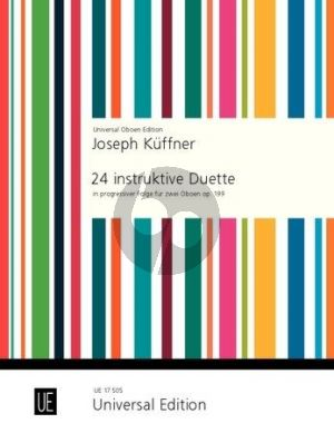 Kuffner 24 Instruktive Duette Opus 199 2 Oboen (in progressiver Folge)