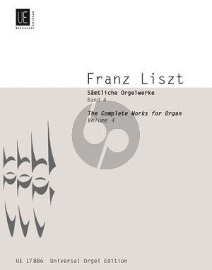 Liszt Samtliche Orgelwerke Vol.4 (Martin Haselböck)