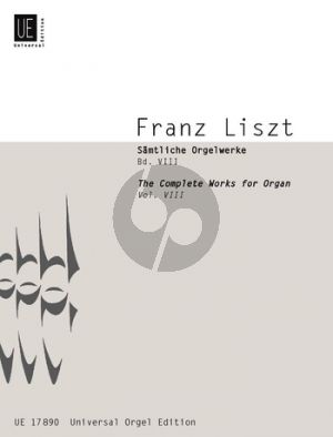 Samtliche Orgelwerke Vol.8 Solo Instr.-Orgel