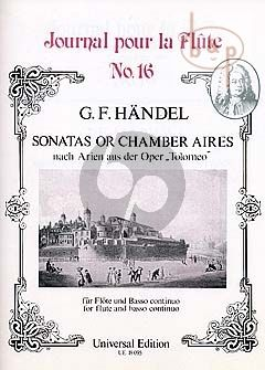 Sonatas op Chamber Aires from the Opera Tolomeo