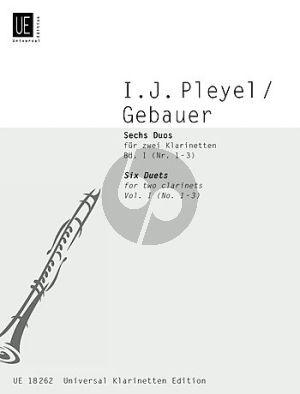 6 Duos Vol.1 (Nos.1 - 3) (2 Clar.)
