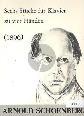 Schoenberg 6 Pieces (1896) Piano 4 Hands