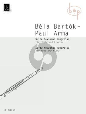 Suite Paysanne Hongroise Flute-Piano