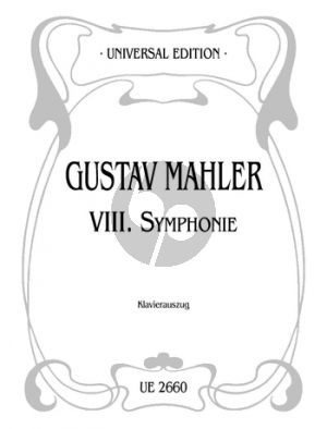 "Mahler Symphony No.8 ""Symphony of a Thousand"" Vocal Score"