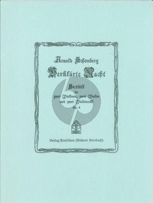 Schoenberg Verklärte Nacht Op.4 2 Vi.-2 Va.-2 Vc. (Stimmen)