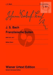 Bach Franzosische Suiten (BWV 812 - 817)