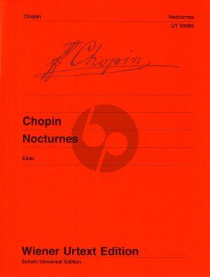 Chopin Nocturnes Piano solo (Jan Ekier) (Wiener Urtext)