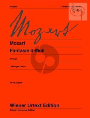 Fantasie d-moll KV 397 Klavier