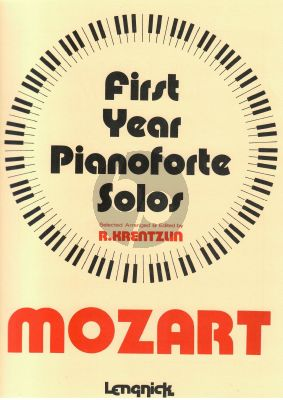 First Year Classics: Mozart for Piano