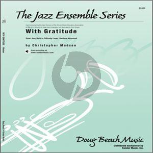 With Gratitude - 1st Trombone