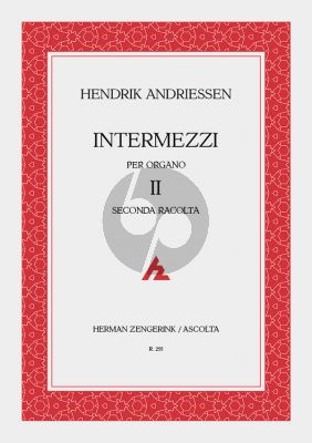 Andriessen Intermezzi Vol.2 Orgel