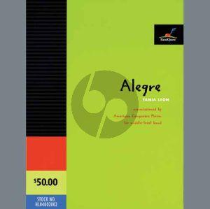 Alegre - Bb Clarinet 1