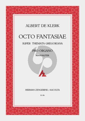 Klerk Octo Fantasie Orgel (man.)