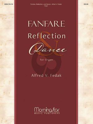 Fedak Fanfare-Reflection and Dance Organ