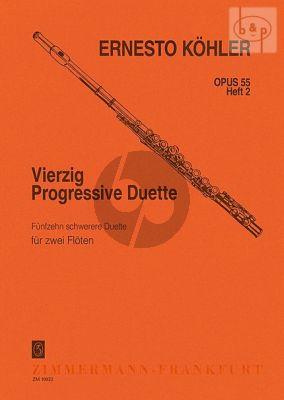 40 Progressive Duette Op.55 Vol.2