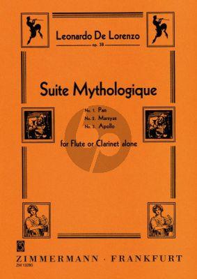 Lorenzo Suite Mythologique Op.38 Flöte allein