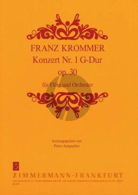 Konzert No.1 G-dur Op.30 Flöte und Orchester
