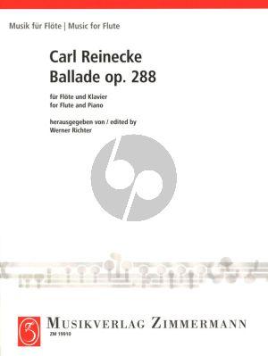 Reinecke Ballade Op.288 Flöte und Klavier