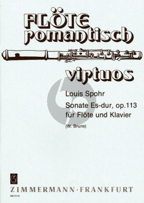 Sonate Es-dur Op.113 Flöte-Klavier