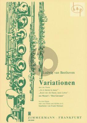 "Variations ""La ci darem la mano"" (from Mozart's Don Giovanni)"