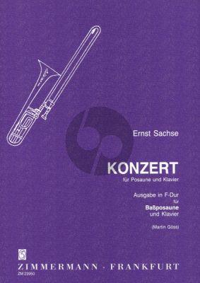 Sachse Concertino F-dur Bassposaune-Klavier (Martin Göss)