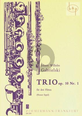 Trio Op.10 No.1 (3 Flutes)